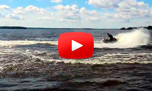 На гидроцикле по озеру Шлино